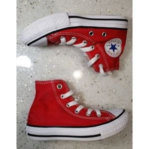 Converse Shoes - Converse Chuck Taylor All Star Youth Red High Top